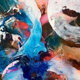 Meine dynamische Farbenwelt-200x100-Mischtechnik-2018-2800fr-ursi-goetz